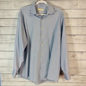 Michael Kors Non Iron Button Down Long Sleeve